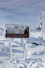 Winterlandschaft Brocken