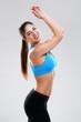 Young woman enjoying fitness