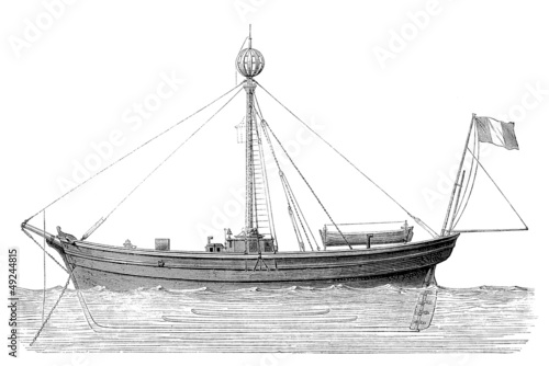 Lightship - Bâteau-Phare - 19th century