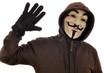 Anonymous winkt