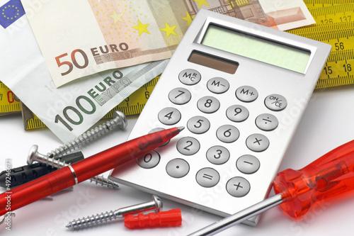 werkzeug mit euro