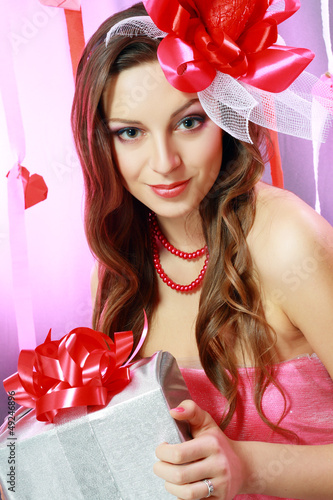 beautiful Valentine woman