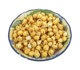 Carmel Popcorn Peanuts Bowl