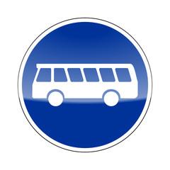 verkehrszeichen v2 bus frei I