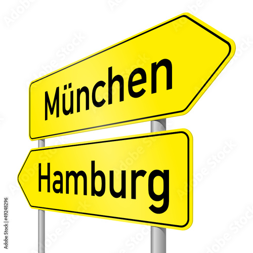 schild lr münchen hamburg I