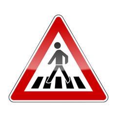 verkehrszeichen v2 fussgaengerueberweg I
