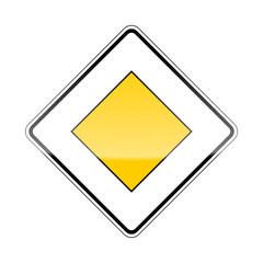 verkehrszeichen v2 vorfahrtszeichen I