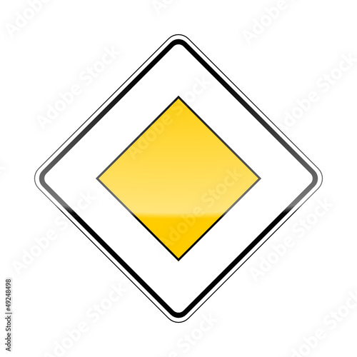 u0026quot;verkehrszeichen v2 vorfahrtszeichen Iu0026quot; Stockfotos und ...