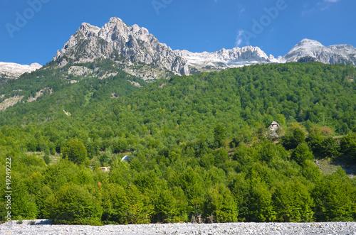 Valbona Valley In Albanian Alps © ollirg