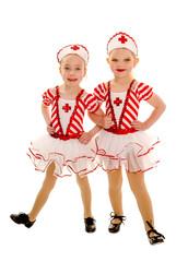 Young Tap Dancing Nurse Buddies