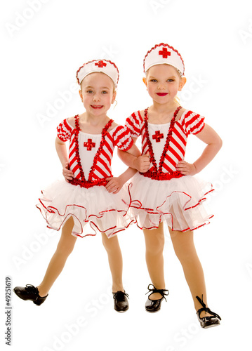 Young Tap Dancing Nurse Buddies