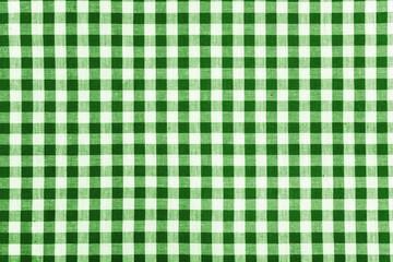 Stoff grün weiß kariert
