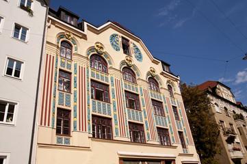 München Jugendstilhaus Ainmillerstraße 22