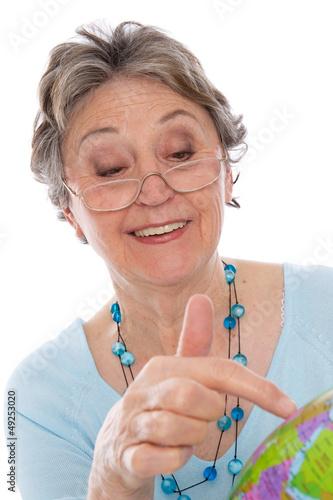 Ruhestand - Rentnerin geht auf Weltreise