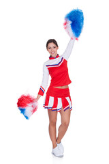 Happy Smiling Cheerleader