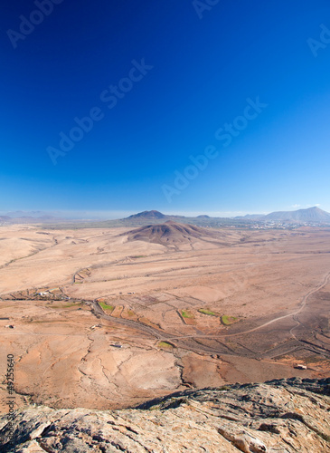 Fuerteventura, view from Tindaya