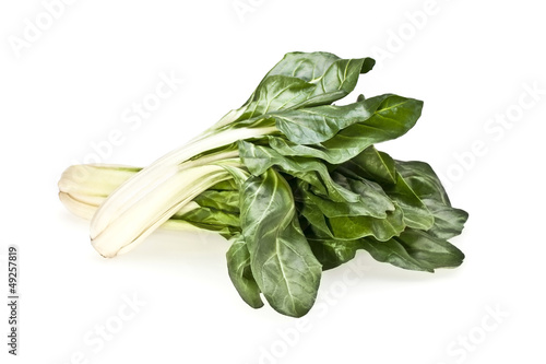 Chard On White Background