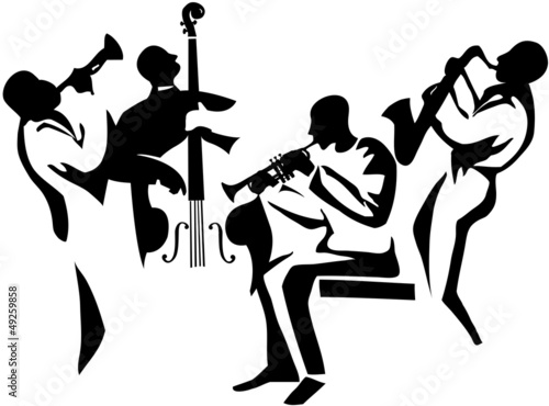 Fototapeta jazz quartet