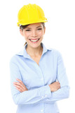 Engineer, entrepreneur or architect business woman