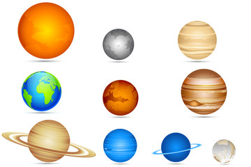 Set of Planets