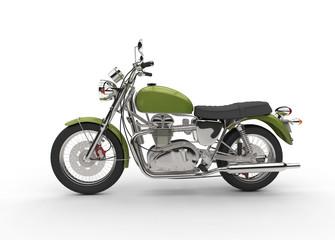 Vintage Green Bike