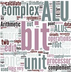 Arithmetic logic unit Concept
