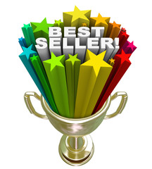 Best Seller Trophy Top Sales Item Salesperson