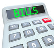Bills - Word on Calculator for Payment of Expenses