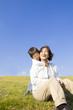 幸せそうな子供と女性