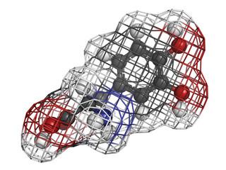 Levodopa (L-DOPA) Parkinson's disease drug.