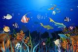 Fototapeta Do akwarium - rafa koralowa © klatki