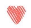 Scribble Heart Big Stroke