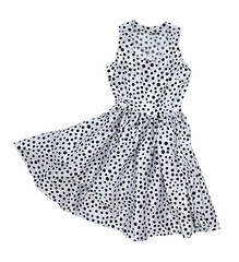 dress with polka dot