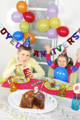 big funny birthday party