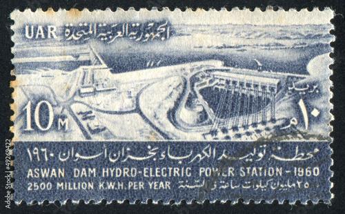Aluminium Dam Aswan high dam