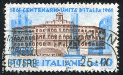 Carignano palace in Turin