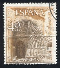 Portal of Sigena Monastery in Huesca