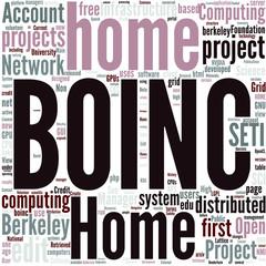 Berkeley Open Infrastructure for Network Computing Concept
