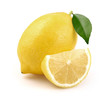 Lemon with slice