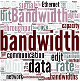 Bandwidth (computing) Concept poster