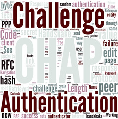 Challenge handshake authentication protocol Concept