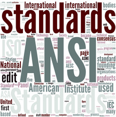 American National Standards Institute Concept