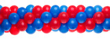 Red and Blue balloon