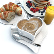 Romantic breakfast