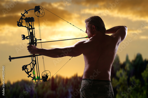 Hunting with a compound bow