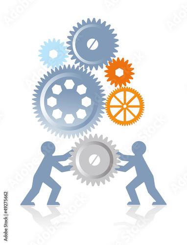 Zusammenarbeit und Antrieb