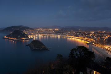 View of San Sebastian, Gipuzkoa, Spain
