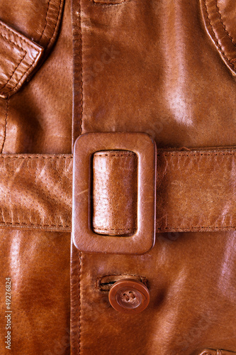 leather with a belt background