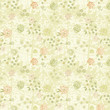 Vintage Floral Background and Pattern