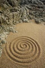 Unendlichkeit Zen Spirale